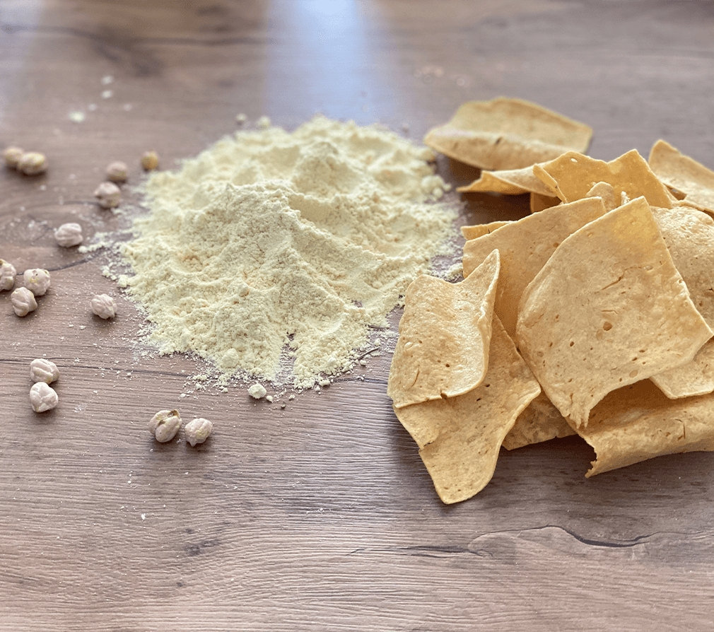 chips de pois chiche